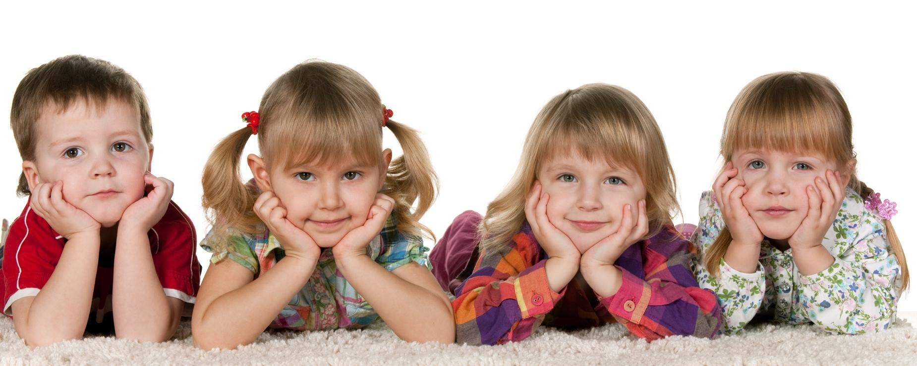 Фото детей от четырех лет